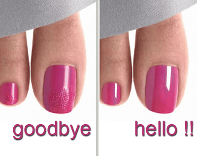 cg nail salon regina shellac pedicure before and after