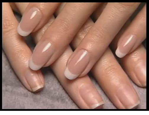 gel nails regina before and after picture