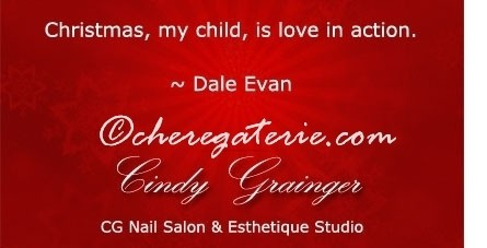 regina nail salon favorite Christmas quote 1