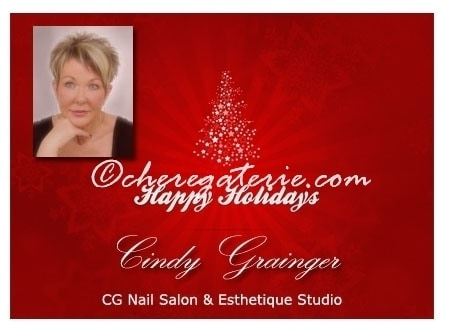 Nail Salon Regina : Warm Wishes for a Merry Christmas