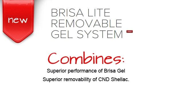Top Nails in Regina - Brisa Lite Removable Gel System