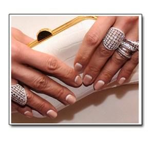 french manicure nails regina - reverse french manicure worn by jennifer lopez