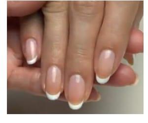 strong natural nails   brisa lite removable gel nails Regina