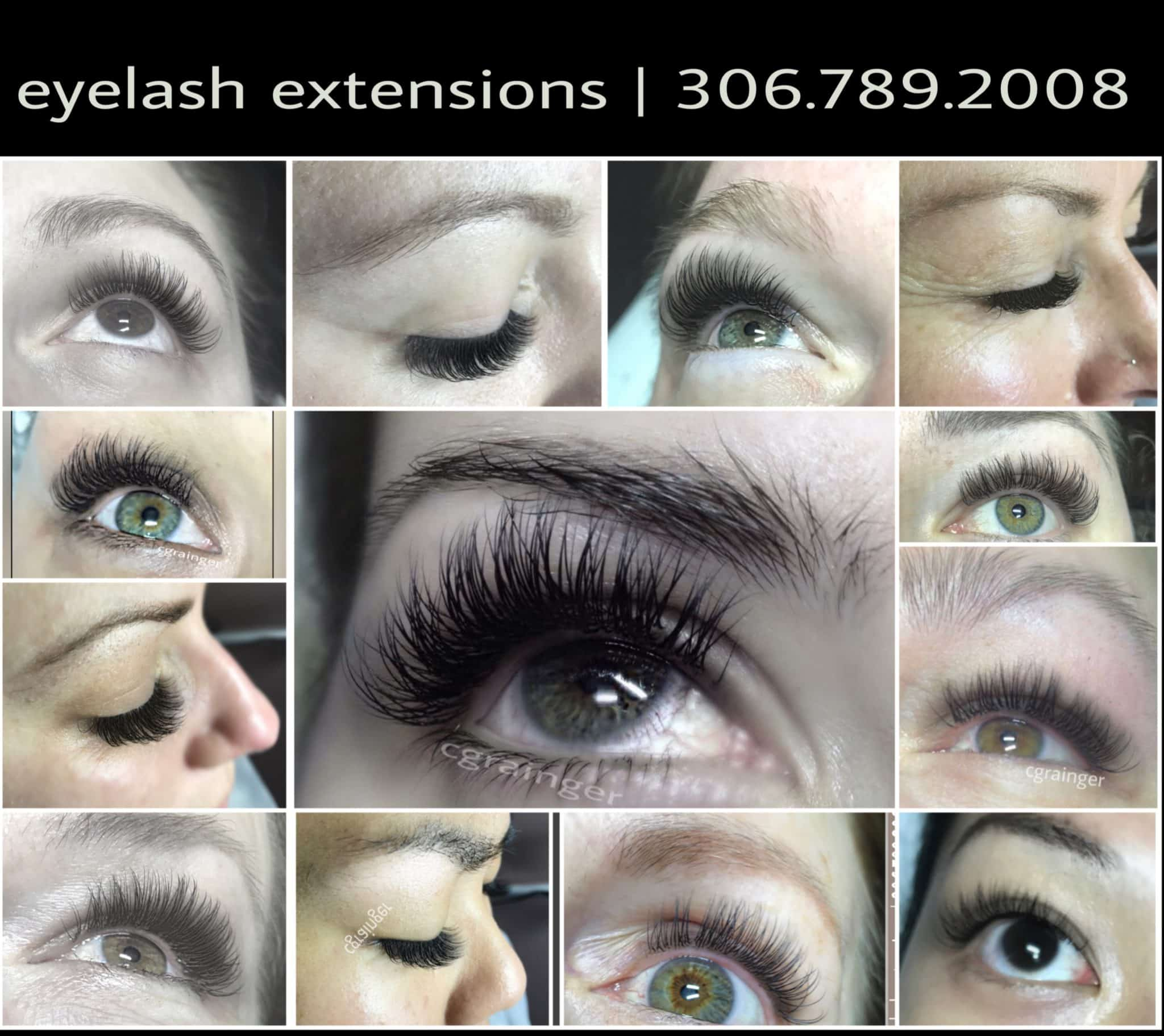 Specializing in Eyelash Extensions Regina Client Reviews