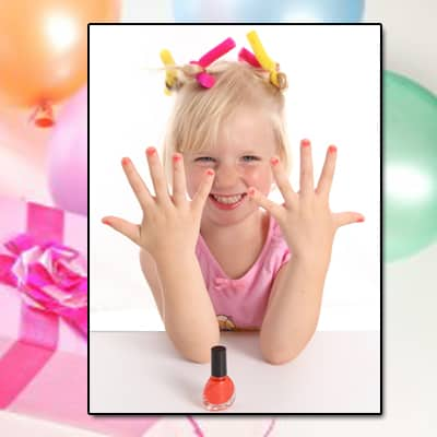 Nail Polish Themed Birthday Party CG Nail Salon Regina