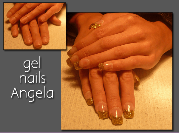 Gel Nails With Tips Before And After