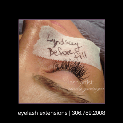 eyelash extensions lyndsay 3 week fill