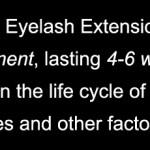 How long do eyelash extensions last?