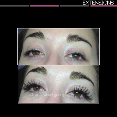 kate eyelash extensions open eye