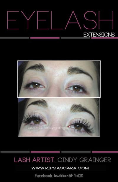 Eyelash Extensions Reviews from Kate Regina Sk.