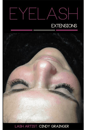 Eyelash Extensions Review from client after photo Lynn B Regina