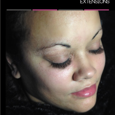 Kyla with Eyelash Extensions Regina