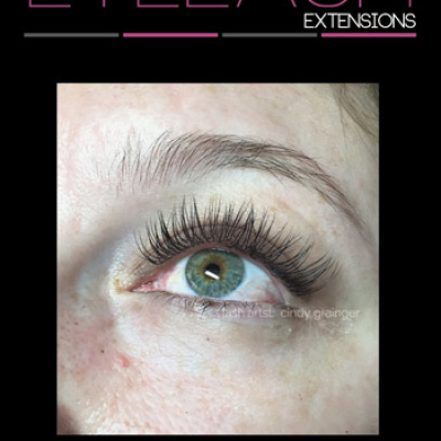 Brandi from Regina After Eyelash Extensions