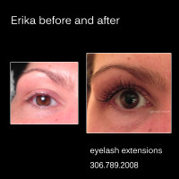 eyelash extensions review from Erika S