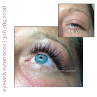 full set of eyelash extensions kristal