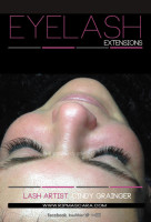 synthetic eyelash extensions lynn b from regina closed eye december 4 2014