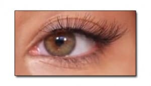 eyelash extensions - no need for mascara