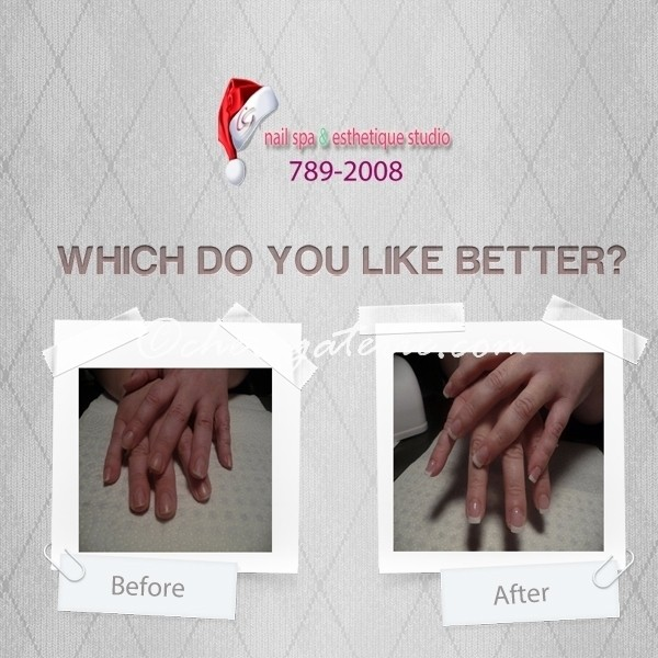 Gel Nails Gift Certificates - Gel Nails Regina Before and After
