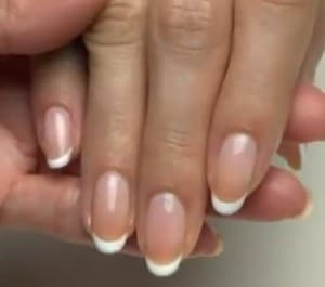Gel Nails French Manicure With Brisa Lite 1