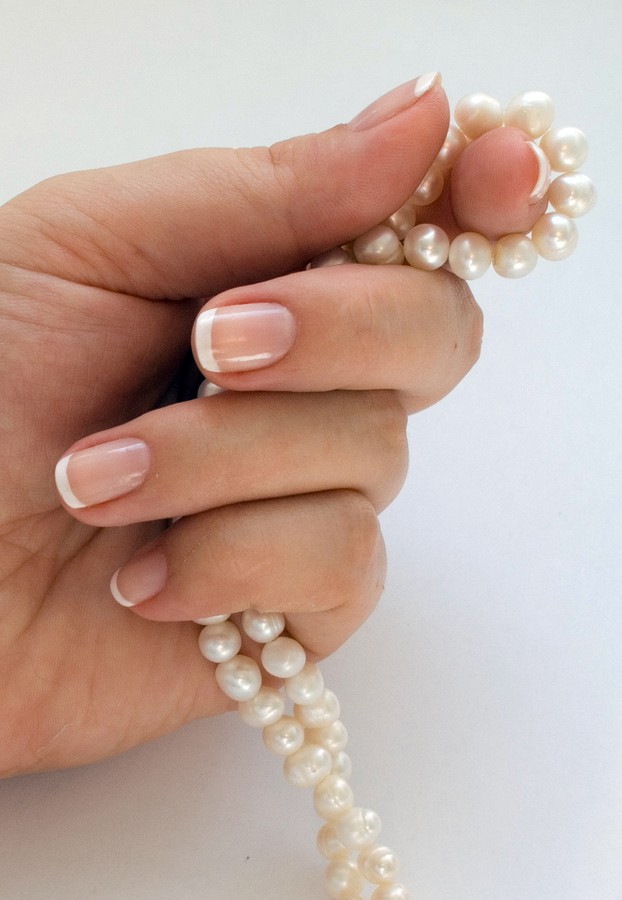 French Manicure Gel Nails Regina - CG Nail Salon & Esthetique Studio ...
