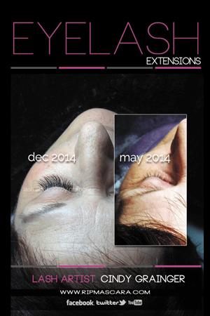 Sharon provides Eyelash Extensions Review