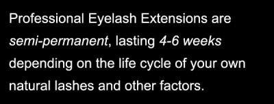 how long do eyelash extensions last