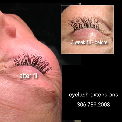 how long do eyelash extensions last, maryellen 3 week fill