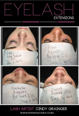 Eyelash Extensions Care for Long Lasting Lashes.