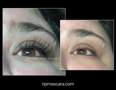 long lasting eyelash extensions regina picture of callie before and after