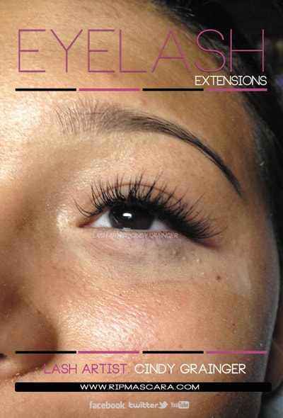 Eyelash Extensions Review from client in Hollywood