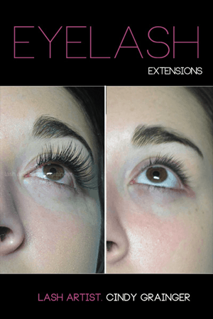 eyelash extensions before and after kate right eye december 17 2014