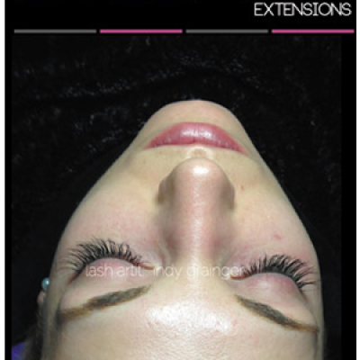 eyelash extensions before and after stacey block december 2014