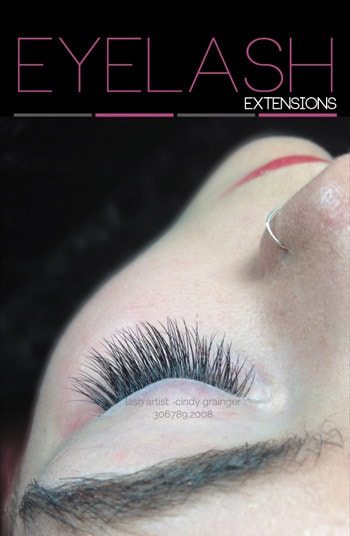 mckenzi with eyelash extensions left eye january 12 2015