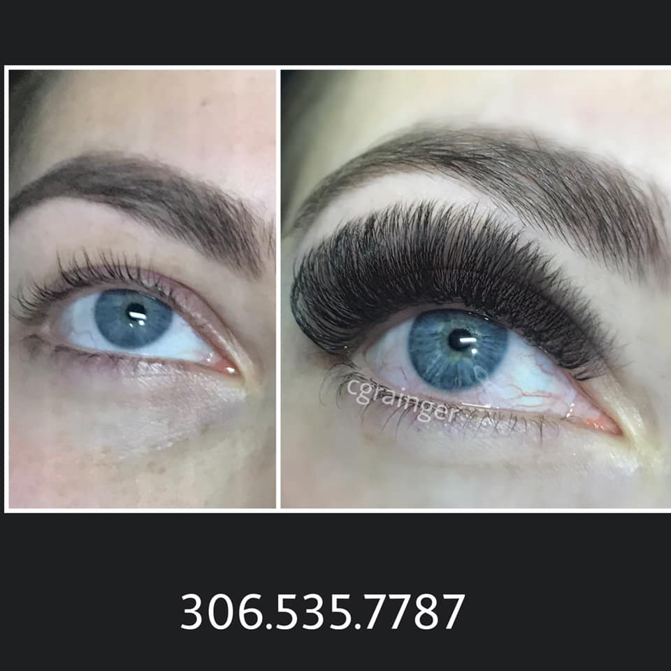 Eyelash Extensions Before and After Pictures